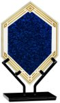 Blue Infinity Double Diamond Acrylic Achievement Awards