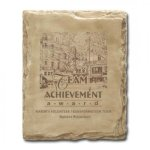 Sandstone Plaque Achievement Awards