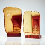 Endless Stairway Artistic Glass Awards