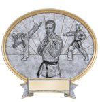Legend Karate Oval Award Karate Trophy Awards