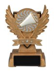 Cheer Victory Wing Resin Figure Multi-Activity Mylar Resin Trophy Awards