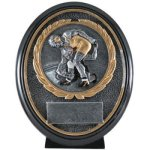 Wrestling Resin Oval Oval Resin Trophy Awards