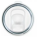 Clear Plastic Slider Lid for Double Wall Insulated Tumblers Promotional Mugs