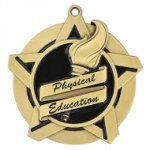 Physical Education Super Star Medal Super Star Medal Awards