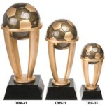 Soccer Tower Resin Tower Resin Trophy Awards