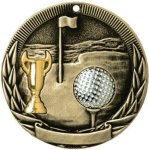 Golf Tri-Colored Medal Awards